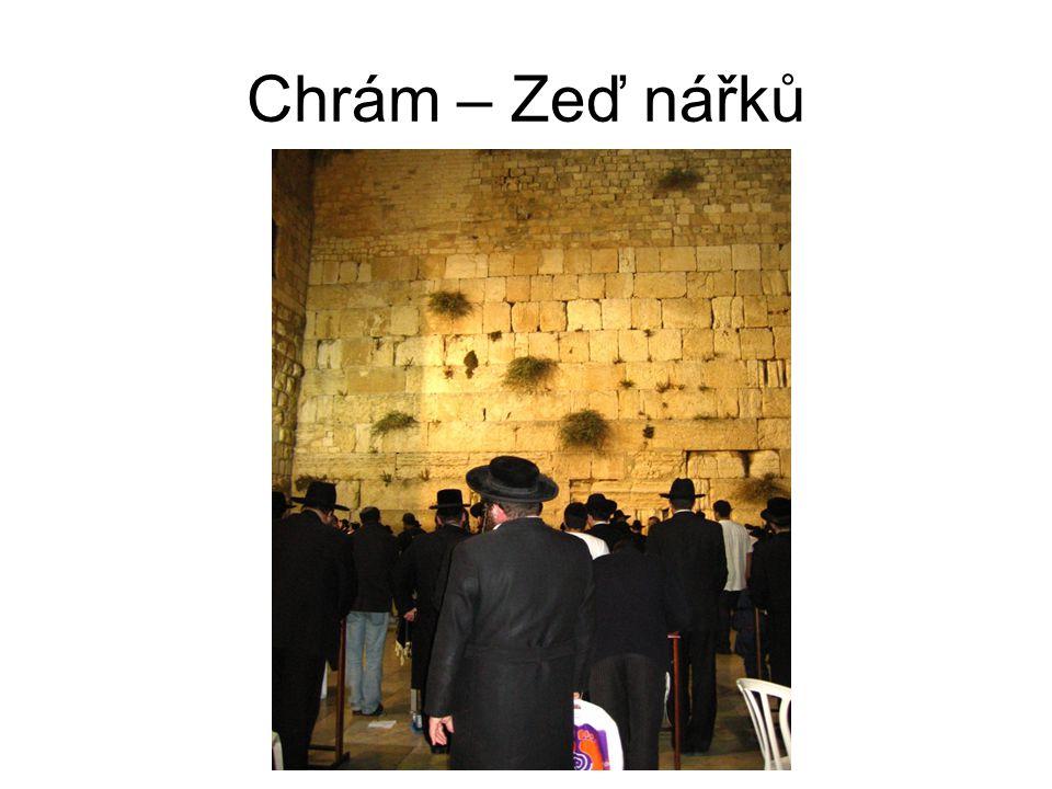 Chrám – Zeď nářků