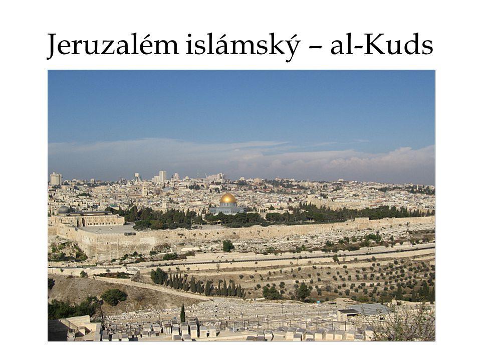 Jeruzalém islámský – al-Kuds