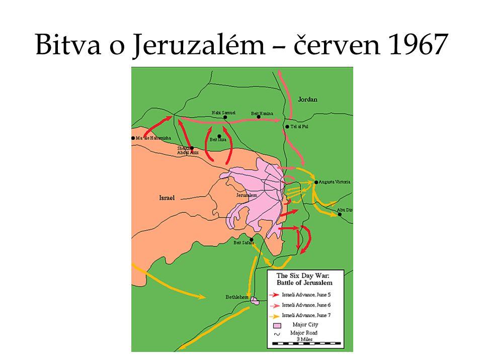 Bitva o Jeruzalém – červen 1967