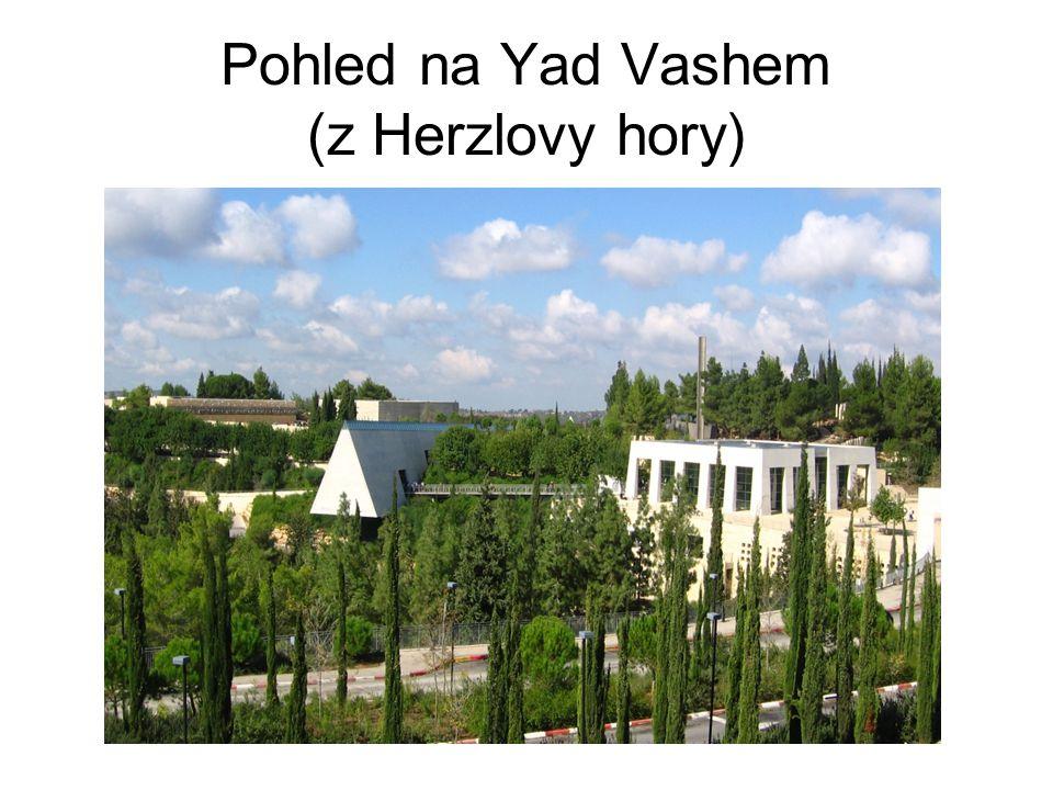 Pohled na Yad Vashem (z Herzlovy hory)