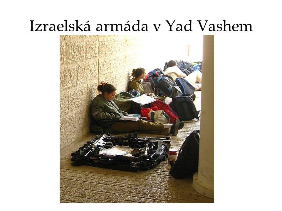 Izraelská armáda v Yad Vashem