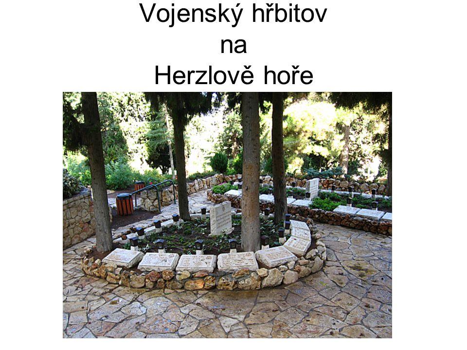 Vojenský hřbitov na Herzlově hoře