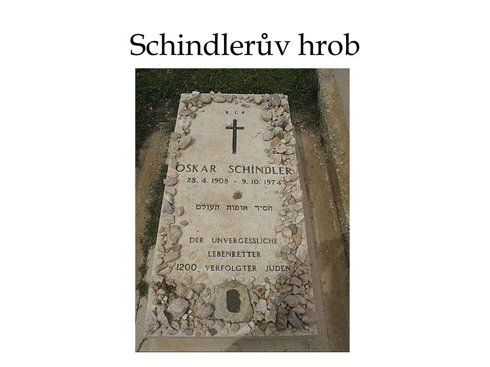 Schindlerův hrob