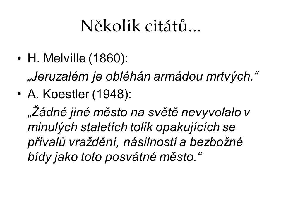 Několik citátů... H. Melville (1860):