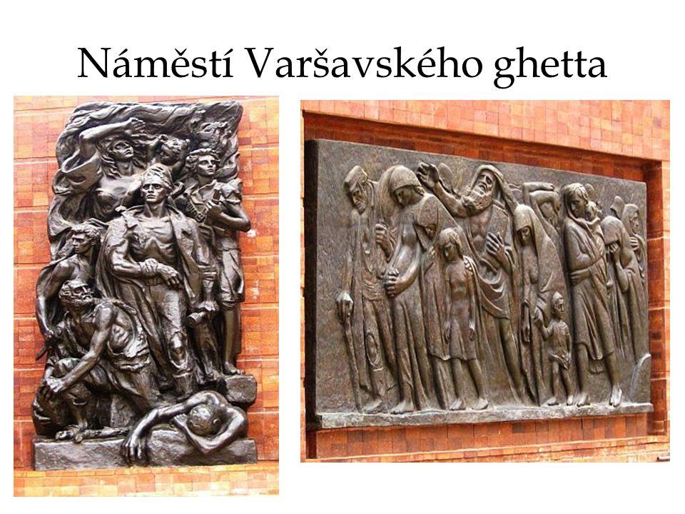Náměstí Varšavského ghetta