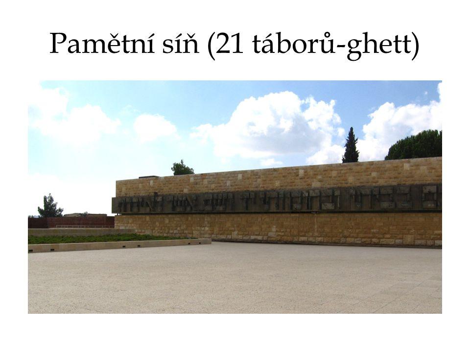Pamětní síň (21 táborů-ghett)