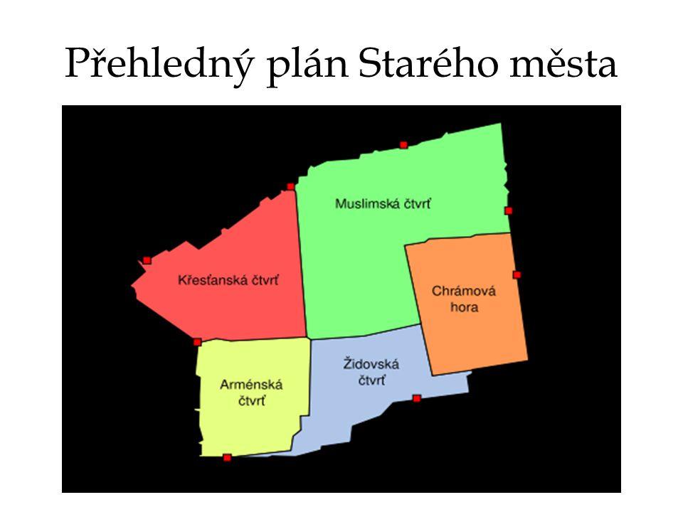 Přehledný plán Starého města