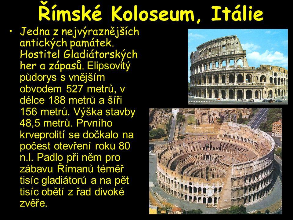 Římské Koloseum, Itálie