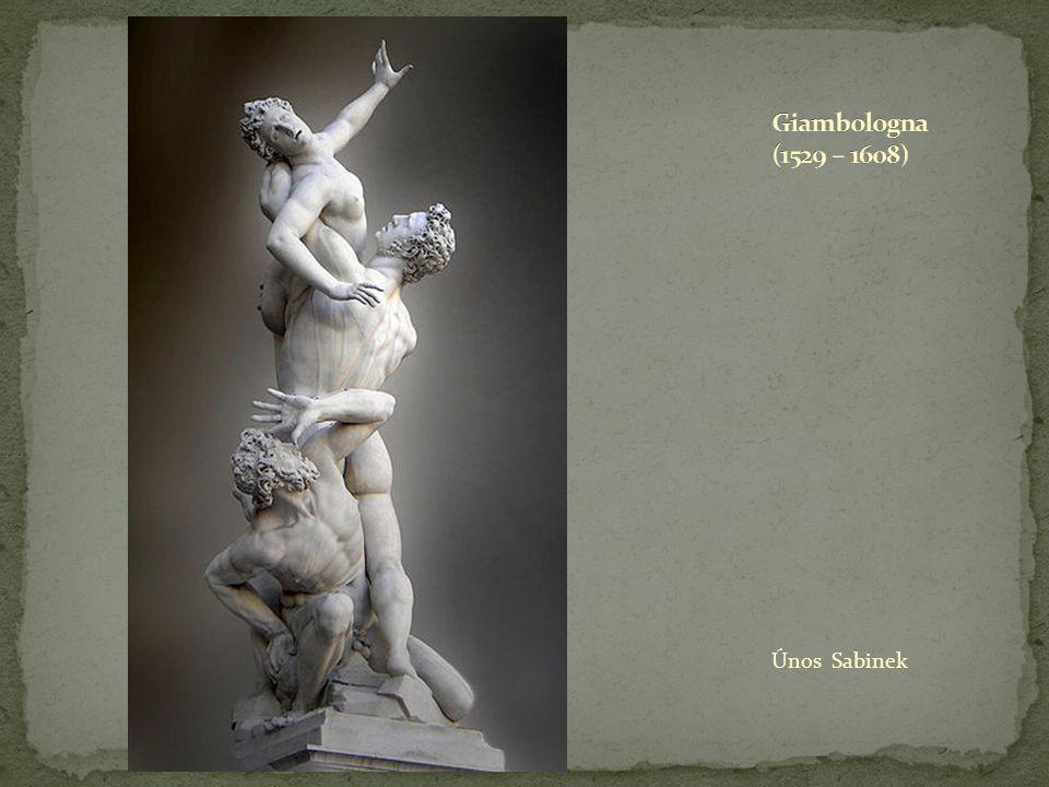 Giambologna (1529 – 1608) Únos Sabinek