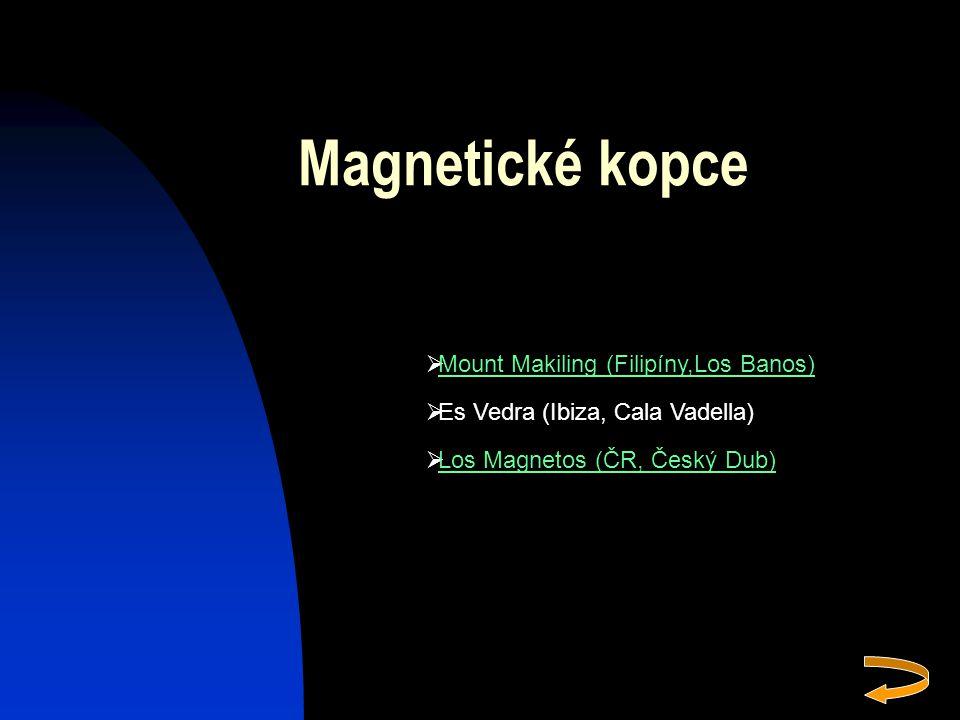 Magnetické kopce Mount Makiling (Filipíny,Los Banos)