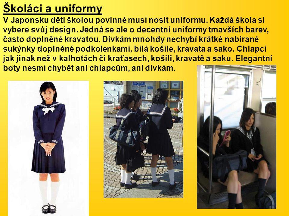 Školáci a uniformy