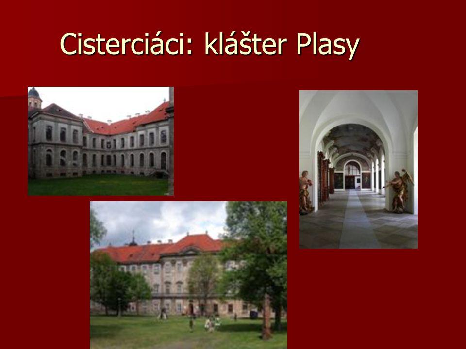 Cisterciáci: klášter Plasy