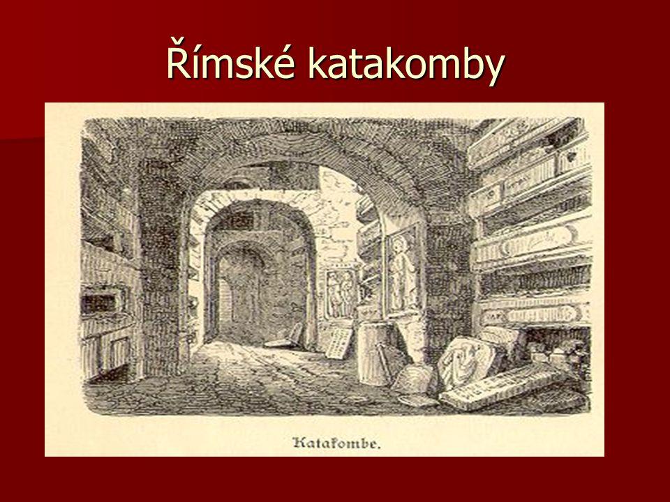 Římské katakomby