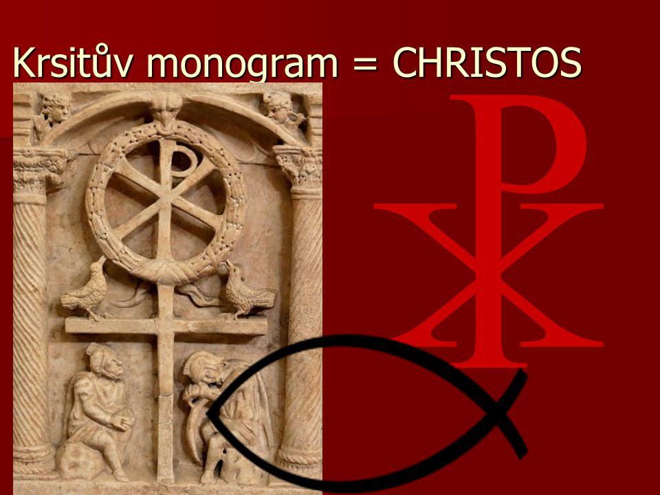Krsitův monogram = CHRISTOS