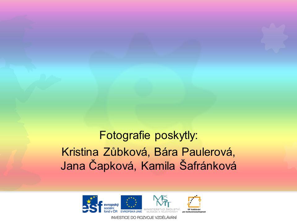 Kristina Zůbková, Bára Paulerová, Jana Čapková, Kamila Šafránková