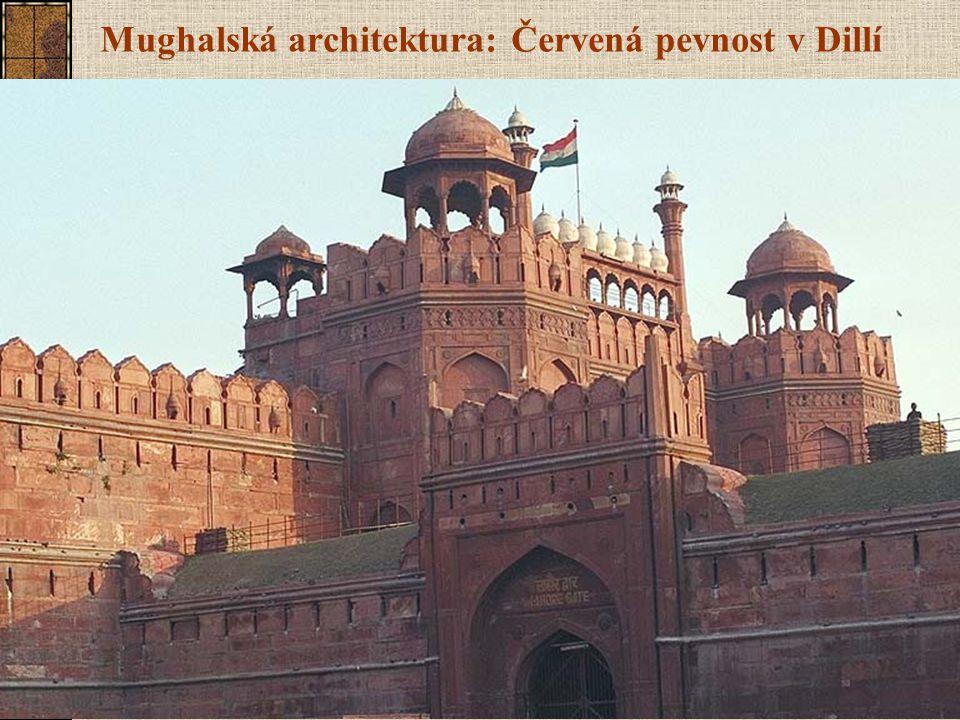 Mughalská architektura: Červená pevnost v Dillí