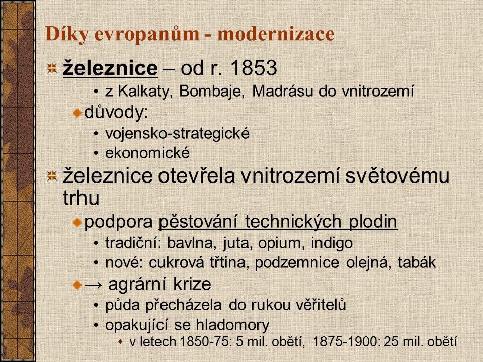 Díky evropanům - modernizace