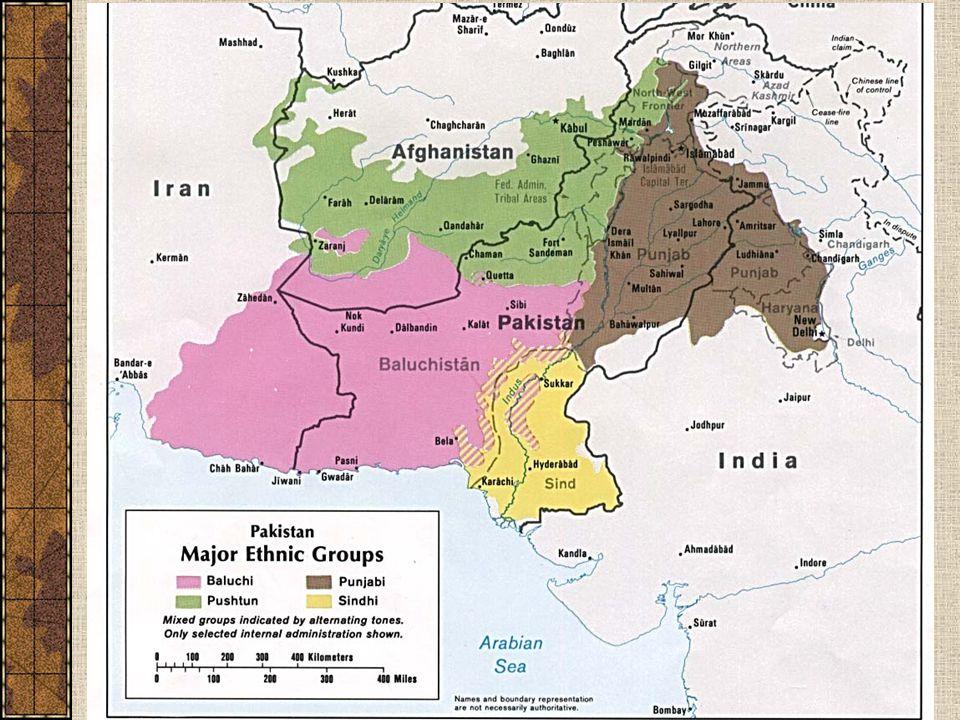 Pákistán – etnické skupiny
