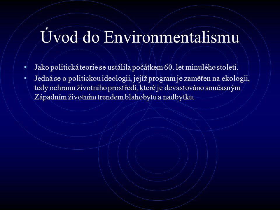 Úvod do Environmentalismu