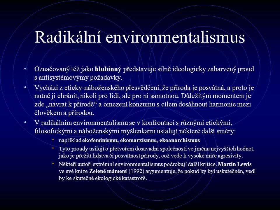 Radikální environmentalismus