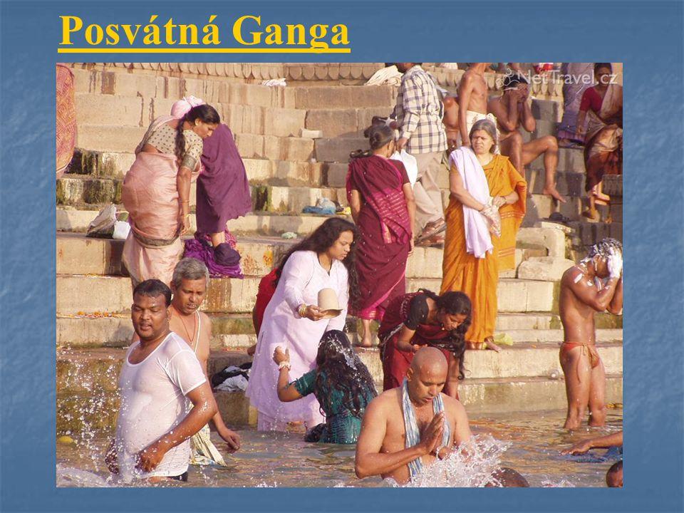 Posvátná Ganga