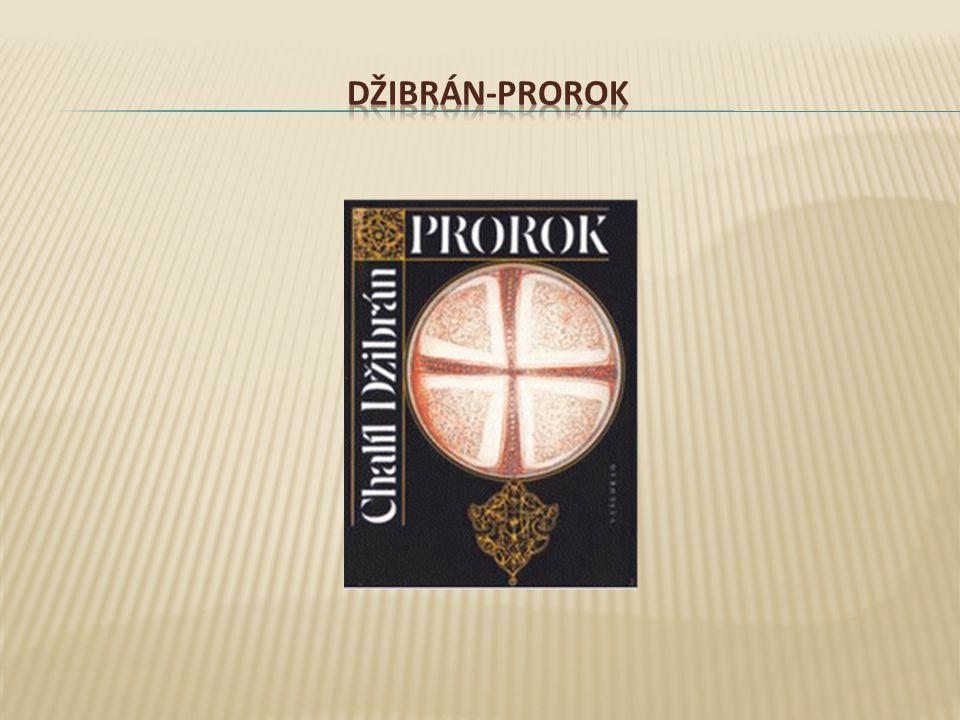 DŽIBRÁN-PROROK