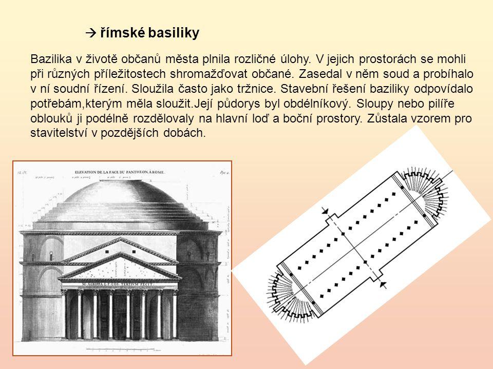  římské basiliky
