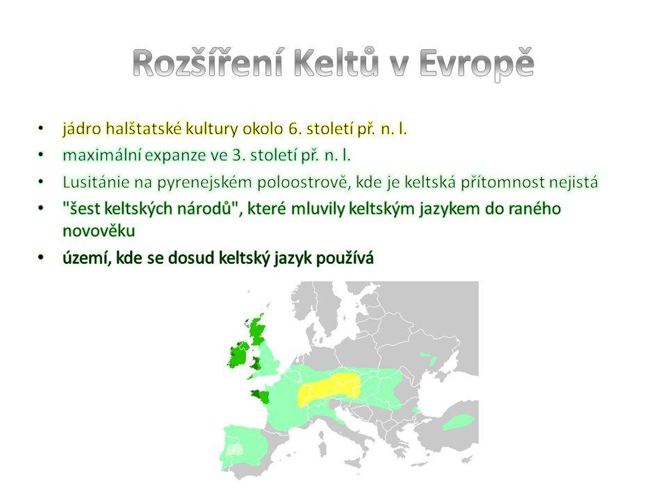 Rozšíření Keltů v Evropě