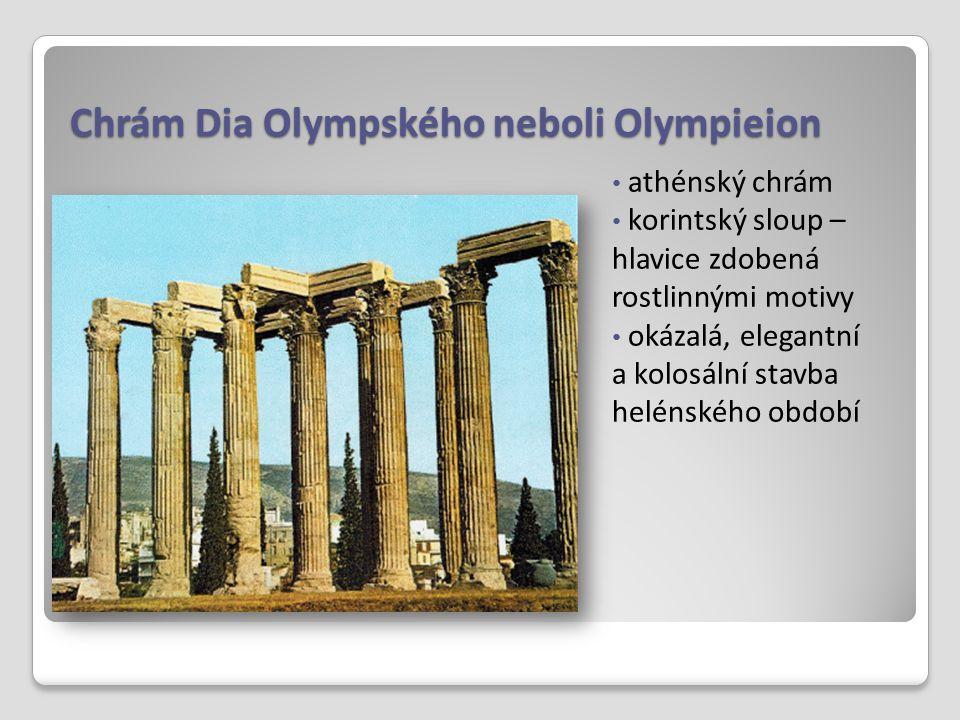Chrám Dia Olympského neboli Olympieion