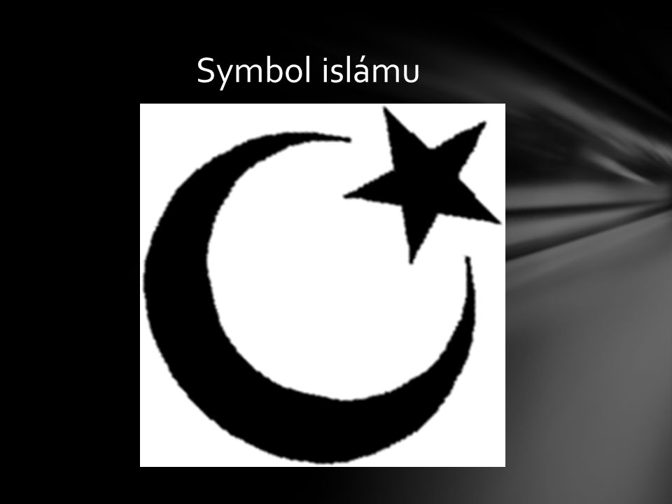 Symbol islámu