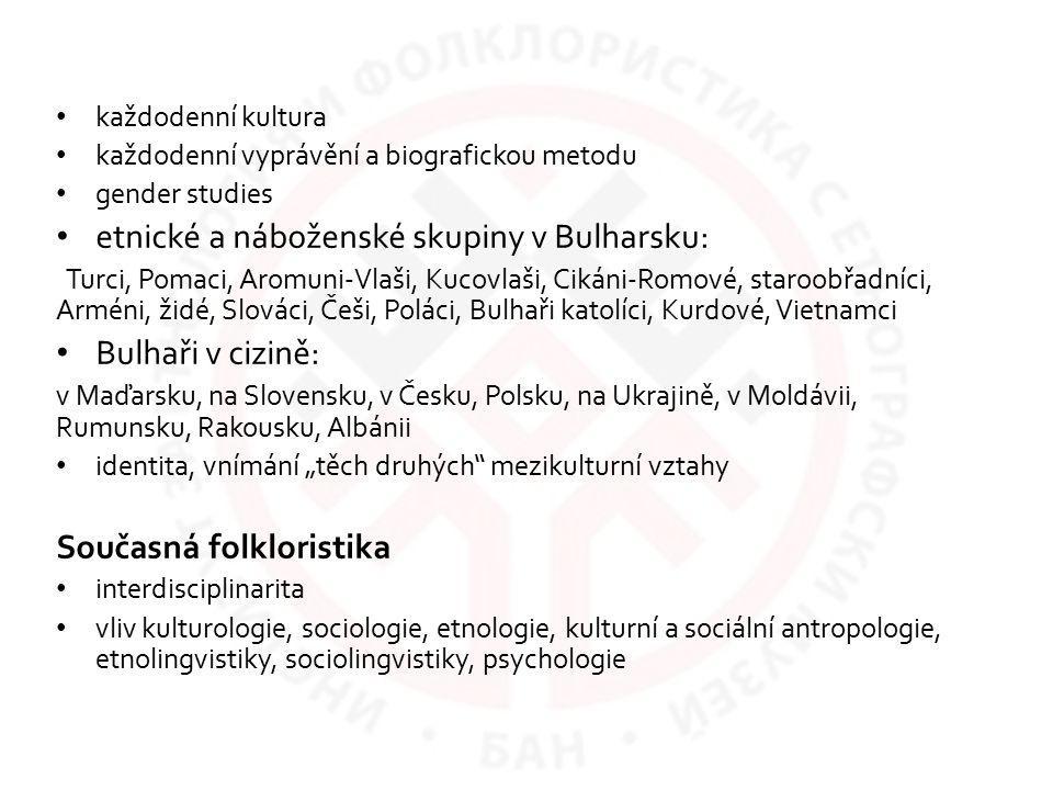 etnické a náboženské skupiny v Bulharsku: