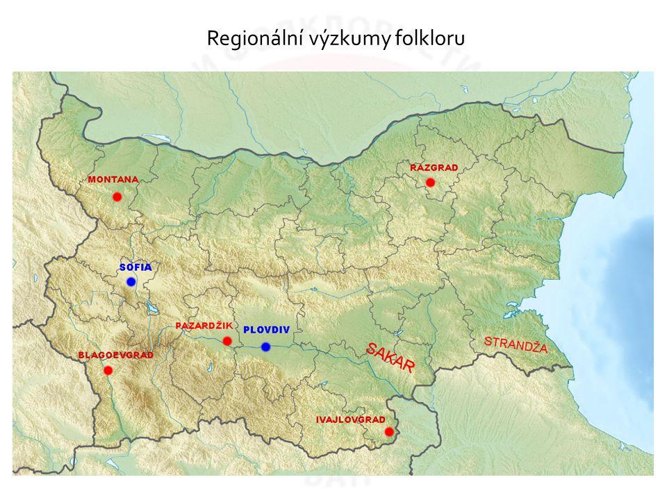Regionální výzkumy folkloru