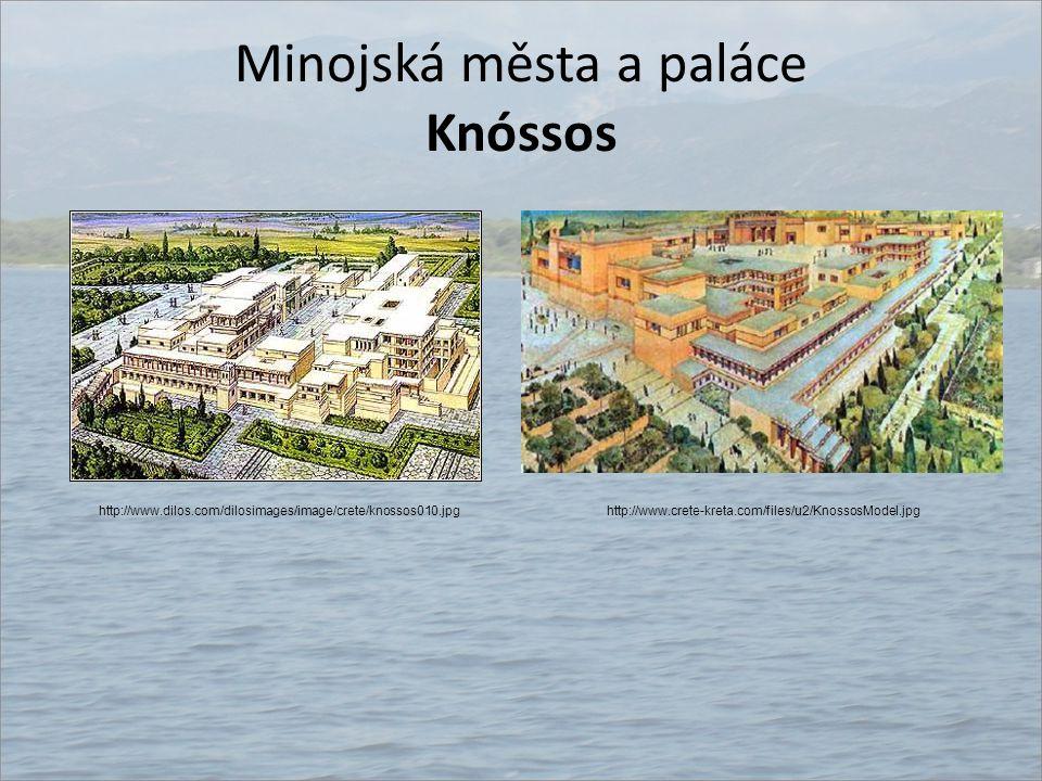 Minojská města a paláce Knóssos