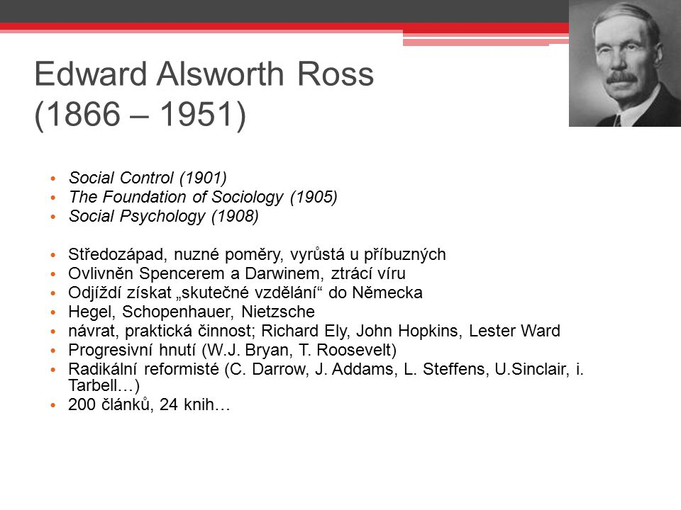 Edward Alsworth Ross (1866 – 1951)