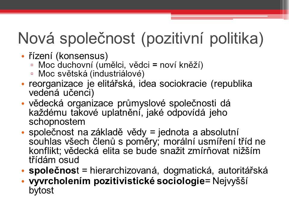 Nová společnost (pozitivní politika)