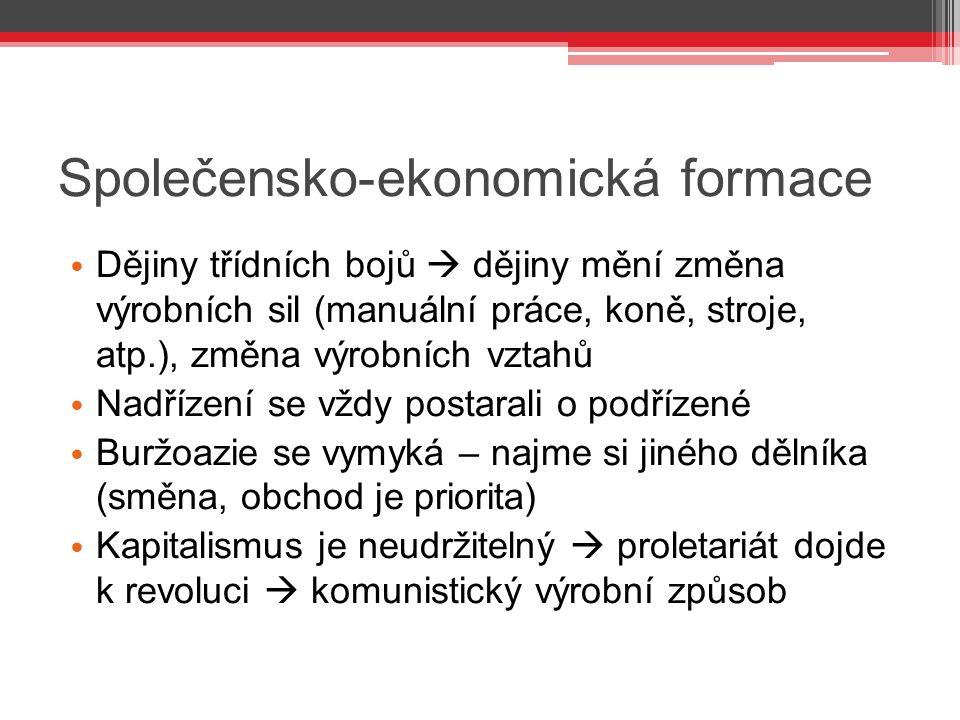 Společensko-ekonomická formace