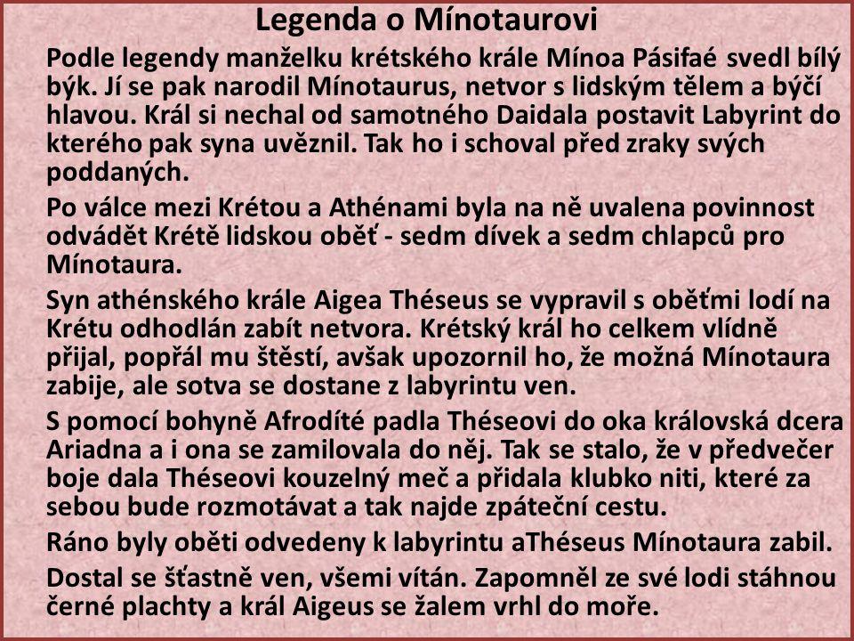 Legenda o Mínotaurovi