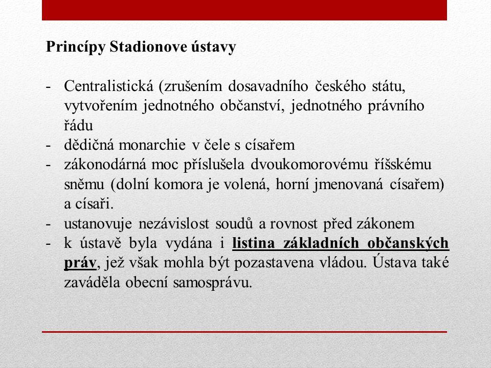 Princípy Stadionove ústavy
