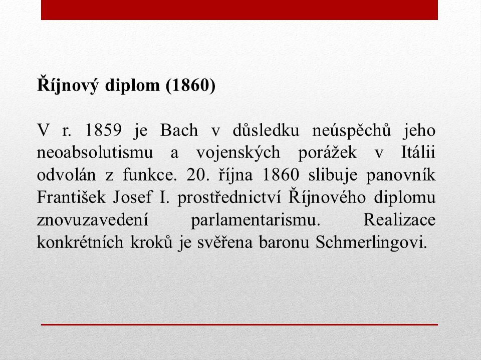Říjnový diplom (1860)