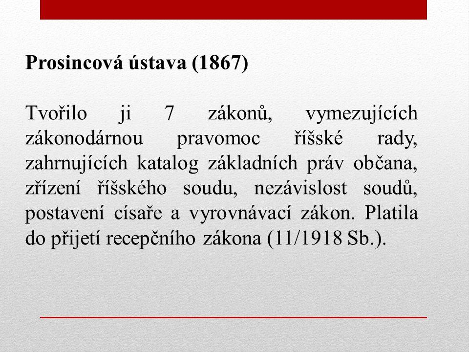 Prosincová ústava (1867)