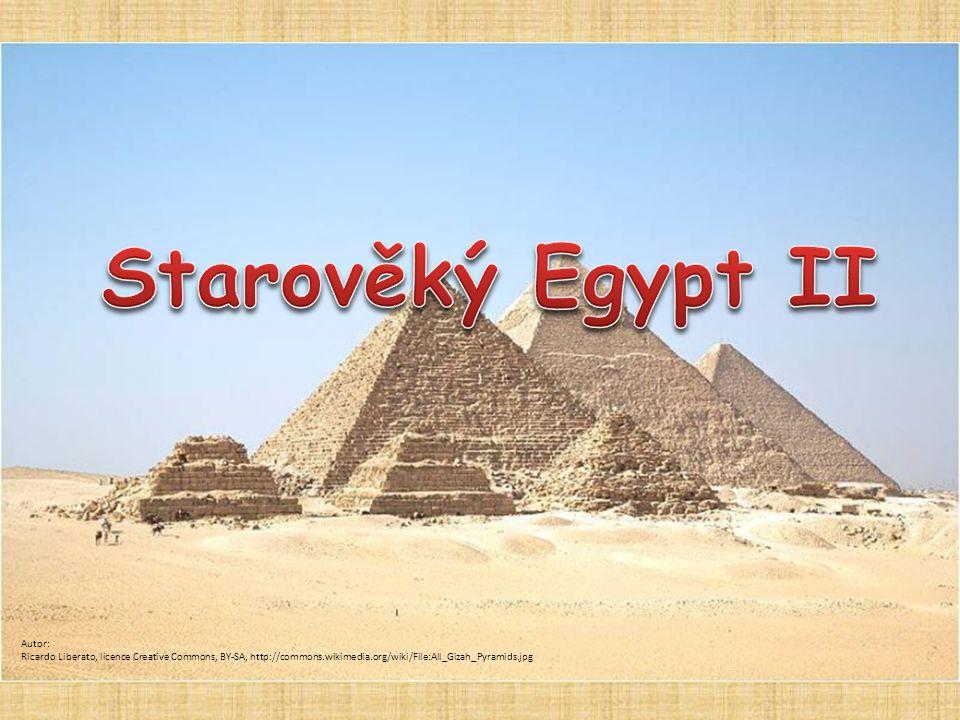 Starověký Egypt II Autor: