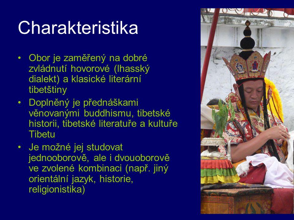 Charakteristika Obor je zaměřený na dobré zvládnutí hovorové (lhasský dialekt) a klasické literární tibetštiny.