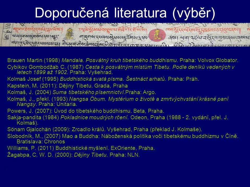 Doporučená literatura (výběr)