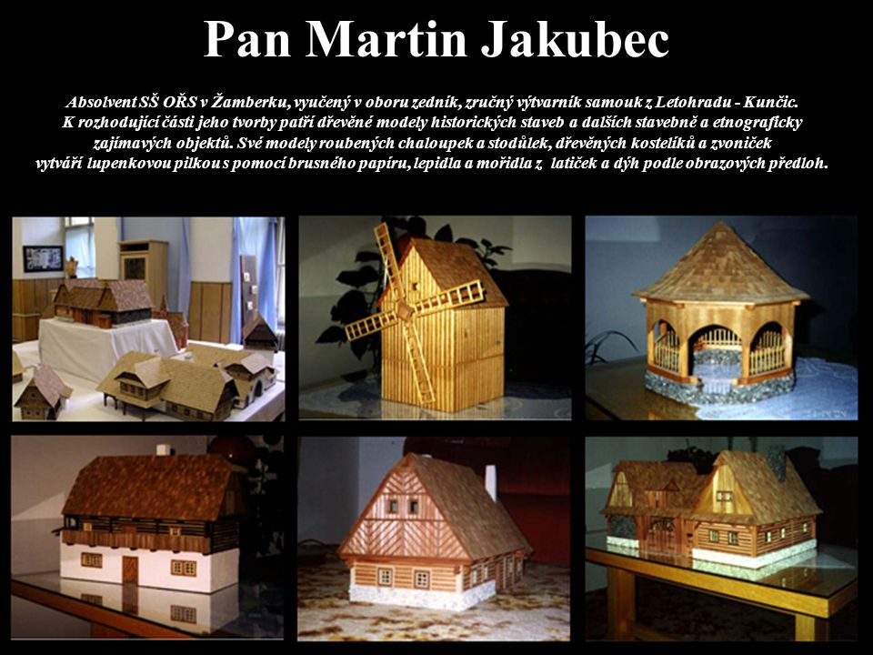 Pan Martin Jakubec