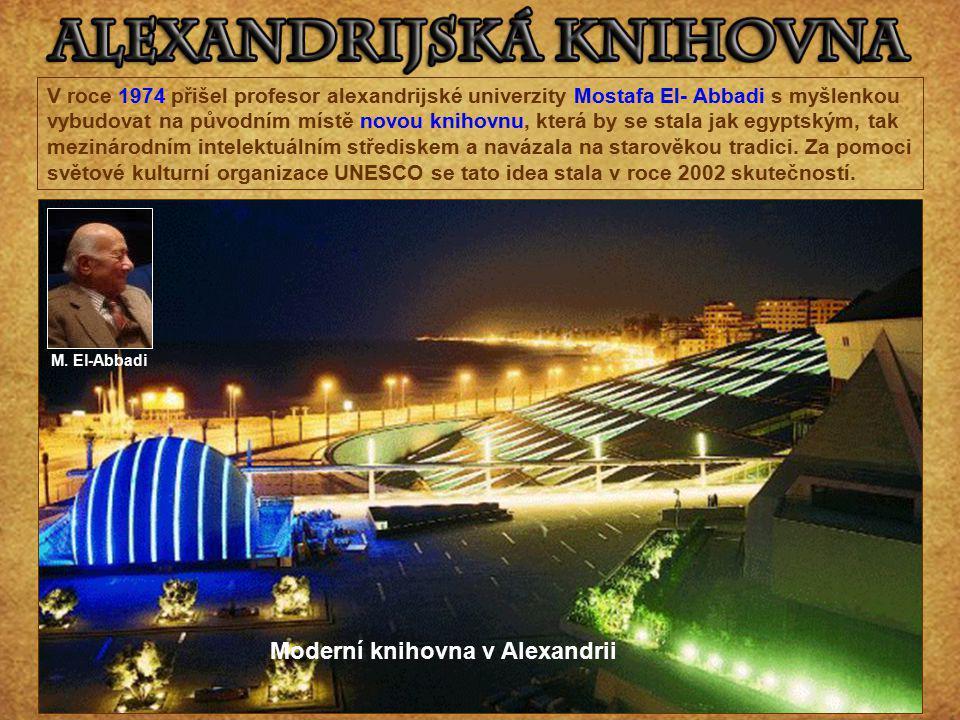 Moderní knihovna v Alexandrii