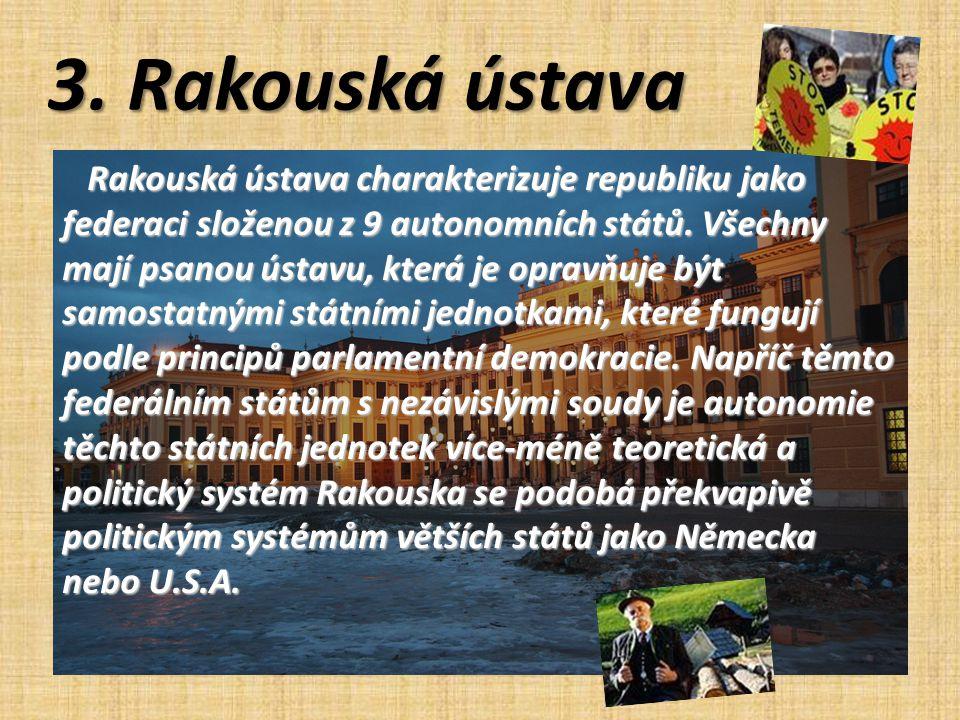 3. Rakouská ústava