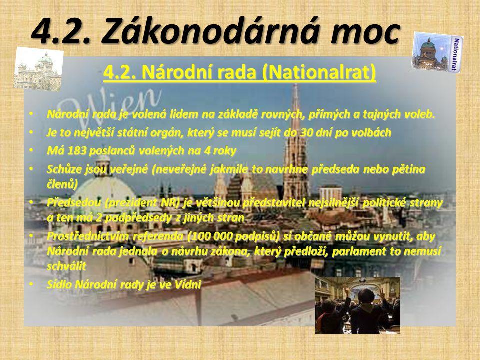 4.2. Národní rada (Nationalrat)