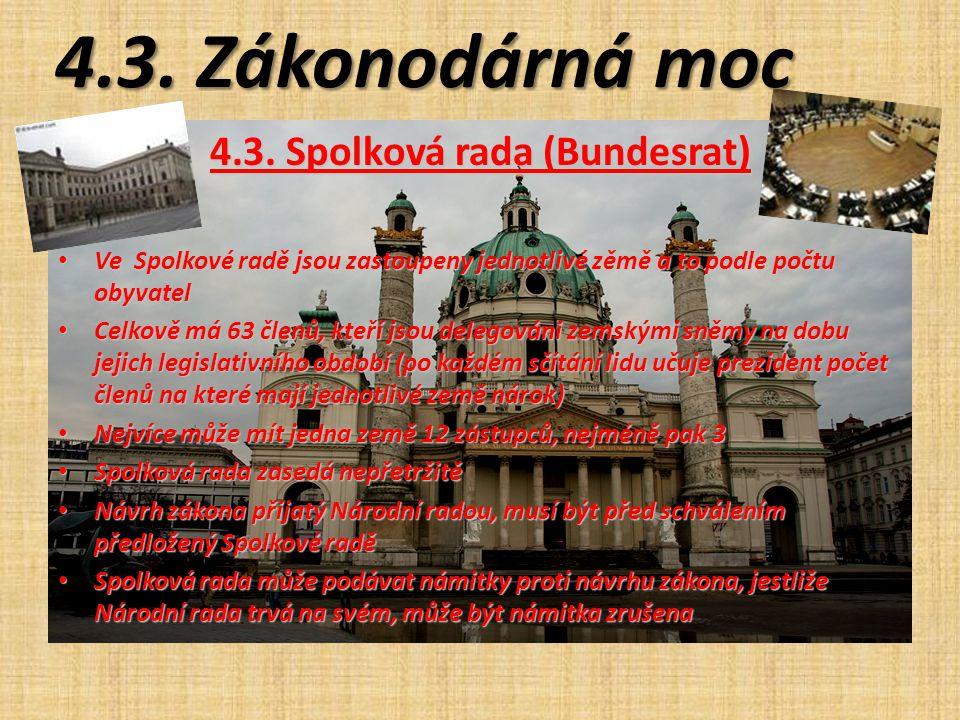 4.3. Spolková rada (Bundesrat)