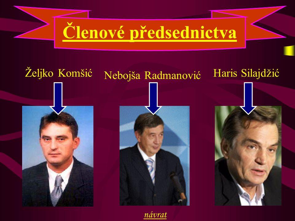 Členové předsednictva