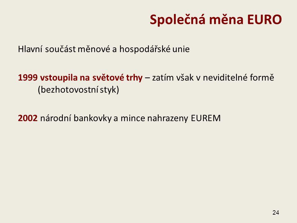 Společná měna EURO